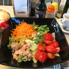 The typical salad